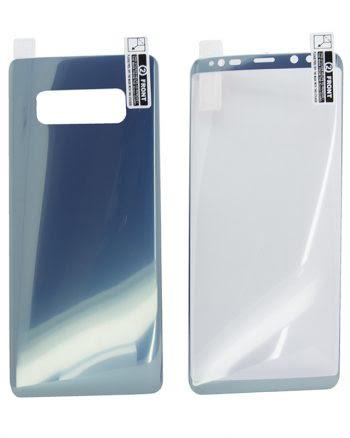 Kleurfolie Samsung Note 8 Blauw-0