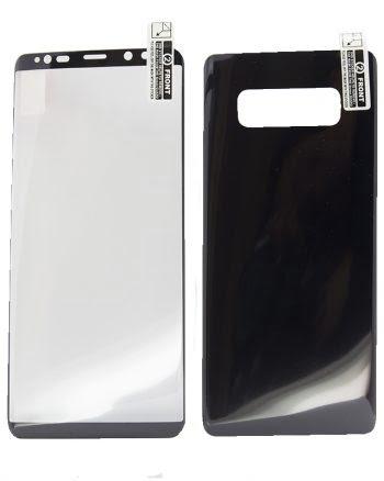 Kleurfolie Samsung Note 8 Zwart-0