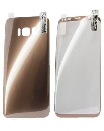 Kleurfolie Samsung S7 Edge - koper-0