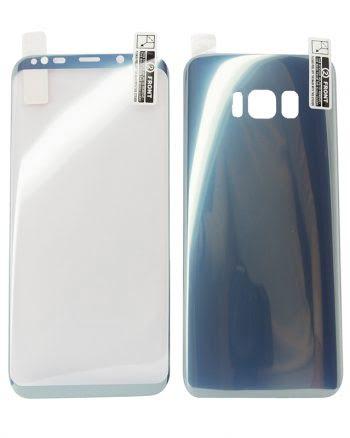 Kleurfolie Samsung S8 blauw-0