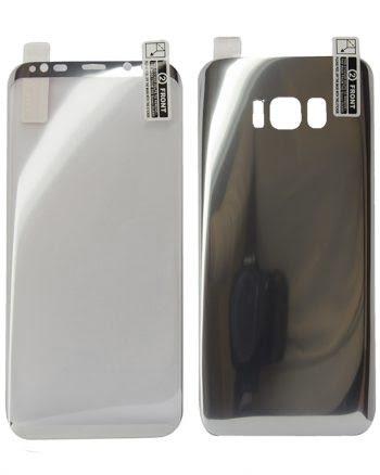 Kleurfolie Samsung S8 - zilver-0