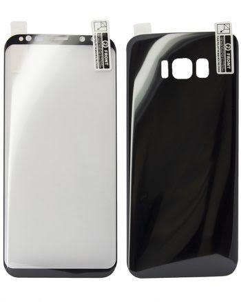 Kleurfolie Samsung S8 zwart-0