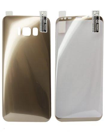 Kleurfolie Samsung S8 goud-0
