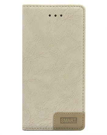 Huawei P9 - Smart Bookcase Beige-0