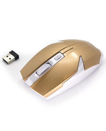 2.4 G Wireless Optical Mouse - Goud-0