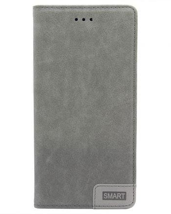 Huawei P9 - Smart Bookcase Grijs-0
