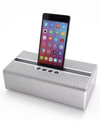 Krachtige Bluetooth Speaker - zilver-0