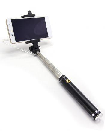 Selfiestick - Metallic Zwart-0