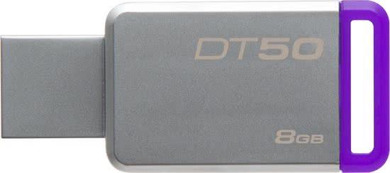 Kingston DataTraveler 50 - USB-stick - 8 GB 100% origineel-0