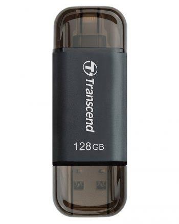 Transcend JetDrive Go 300 Black 128GB USB 3.1 stick voor iPhone-0