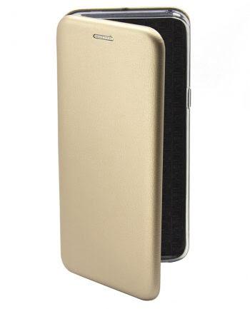 APPLE iPhone 4/4S METALLIC BOOKCASE Goud-0
