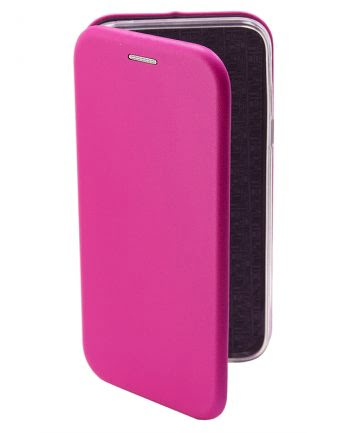 APPLE iPhone 4/4S METALLIC BOOKCASE Fuchsia-0