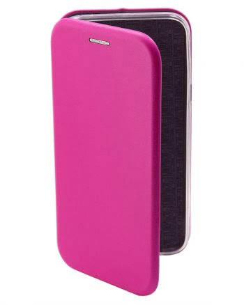 APPLE iPhone 4/4S METALLIC BOOKCASE Fuchsia-0
