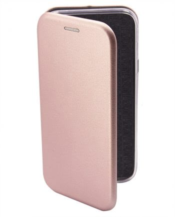 Apple iPhone 4/4S Metallic BOOKCASE Roze-0