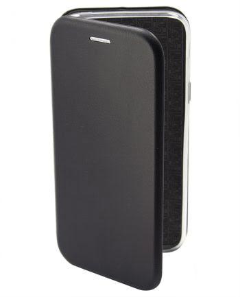 Apple iPhone 4/4s Metallic Book Case Zwart-0