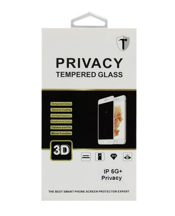 IPHONE 6 PLUS ZWART PRIVACY SCREENPROTECTOR-0