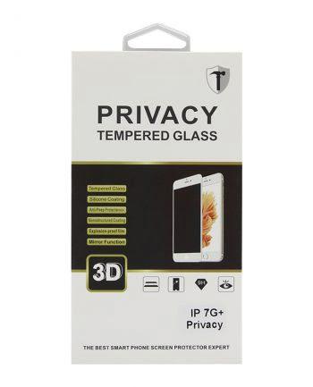 IPHONE 7 PLUS ZWART PRIVACY SCREEN PROTECTOR-0