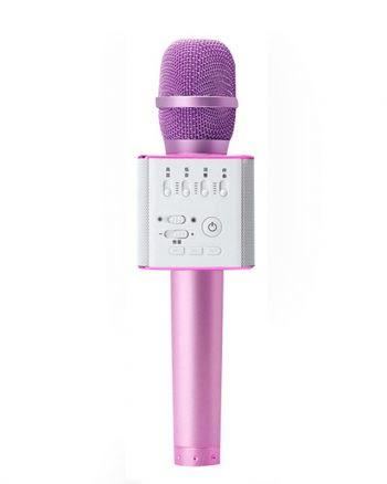 Karaoke Microfoon Q9-Roze-0