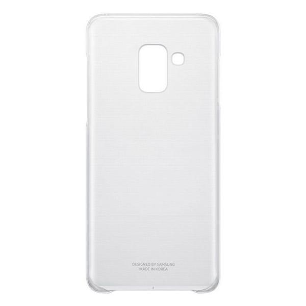 Samsung Galaxy A8 (2018) Soft Siliconen Hoesje - Transparant