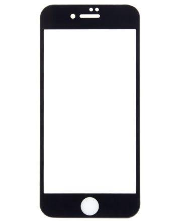iphone 7S Plus 5d Tempered Glass Screenprotector zwart-0