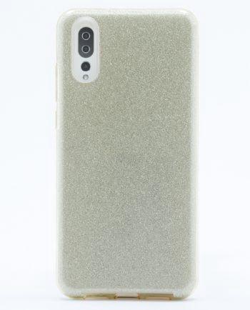 Huawei P20 goud GLITTER HOESJE-0