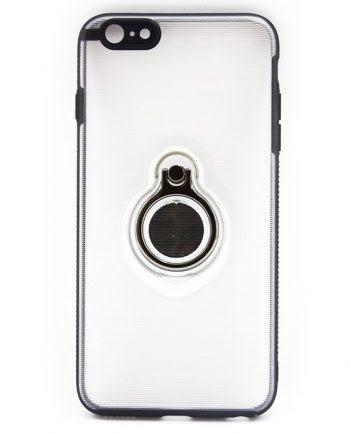 Apple iPhone 7 Hoesje transparant / zwart-0