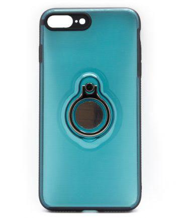 Apple iPhone 7 Plus blauw hoesje-0