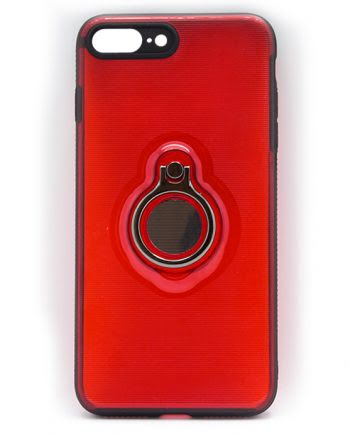 Apple iPhone 7 Plus rood hoesje-0