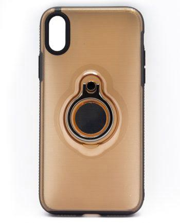 Apple iPhone X beige hoesje-0