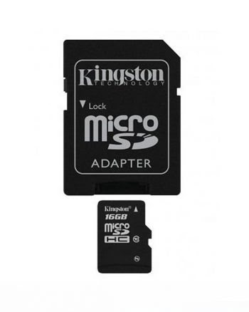Kingston Micro SD 16GB ORGINEEL Class 10-0