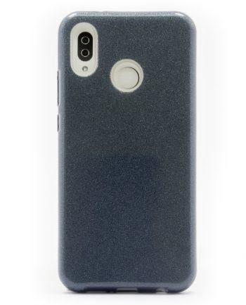 Huawei P20 lite ZWART GLITTER HOESJE-0
