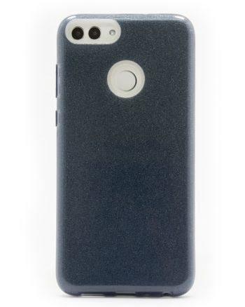 Huawei P SMART ZWART GLITTER HOESJE-0