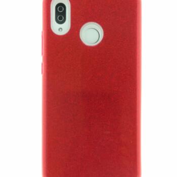 Huawei P20 lite ROOD GLITTER HOESJE-0