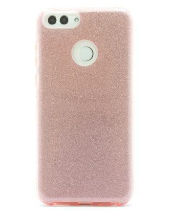 Huawei P SMART ROZE GLITTER HOESJE-0