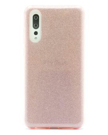 Huawei P20 Plus roze GLITTER HOESJE-0