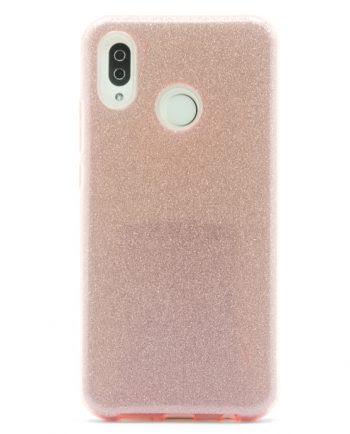 Huawei P20 lite ROZE GLITTER HOESJE-0