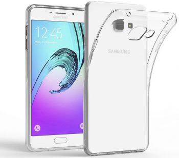 Samsung A7 hoesje Transparant-0