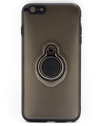 Apple iPhone 6(s) Plus Hoesje Zwart-0