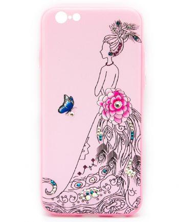 Apple iPhone 6(s) Hoesje Elegant vrouw-0