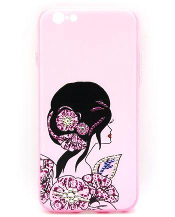 Apple iPhone 6(s) Hoesje Elegant haar-0