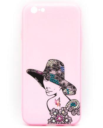 Apple iPhone 6(s) elegant vrouw hoed 2-0