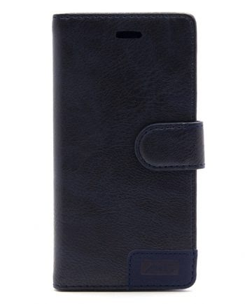 Apple iPhone 7 / 8 donkerblauw bookcase-0