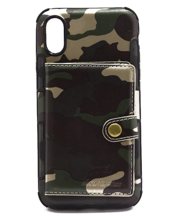 Iphone X Army Case-0