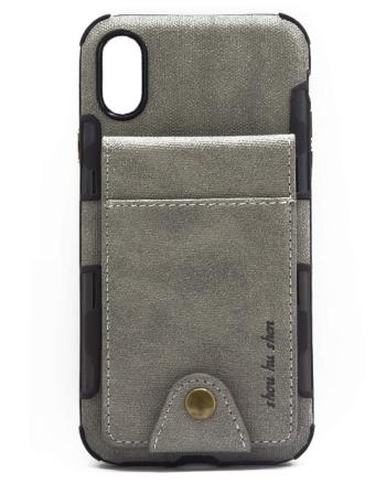 Iphone X Grijs Case-0