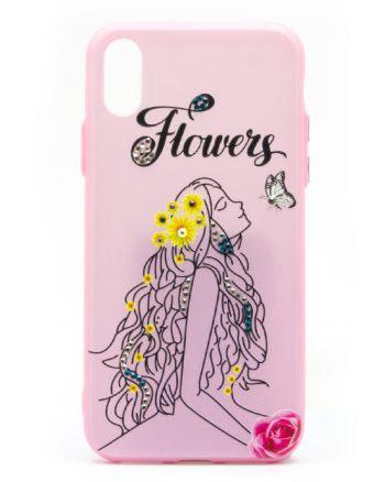 Iphone X HOESJE FLOWER-0