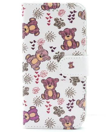 Apple iPhone 7 / 8 teddybeer bookcase-0
