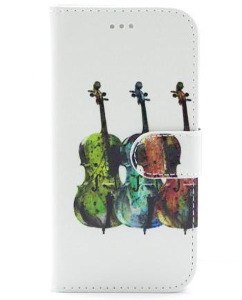 Apple iPhone 7 / 8 viool bookcase-0