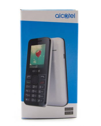 ALCATEL 1054D - 1054E BLACK + GREY-0