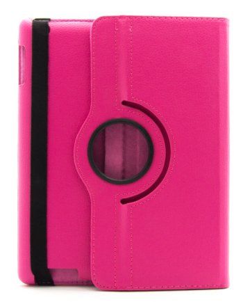 IPAD 2-3-4 tab hoesje roze-0