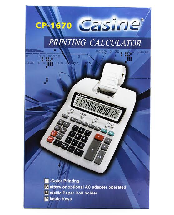 PRINTING CALCULATOR CP-1670-11873